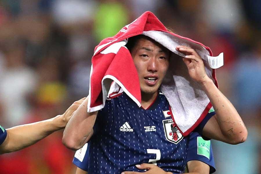試合後悔しさをにじませた昌子源【写真:Getty Images】