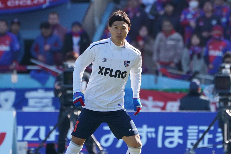 FC東京のDF森重真人【写真:荒川祐史】