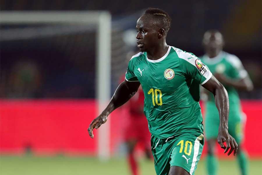 ケニア戦で2得点を挙げたFWマネ【写真:AP】