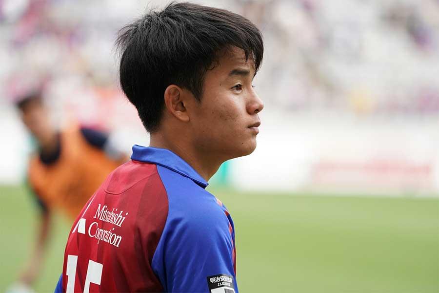 FC東京からレアルへの移籍が決まったMF久保建英【写真:高橋学】
