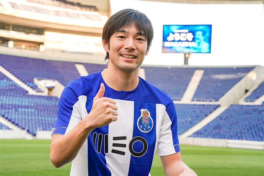 ポルトの日本代表MF中島翔哉【写真:FC PORTO】