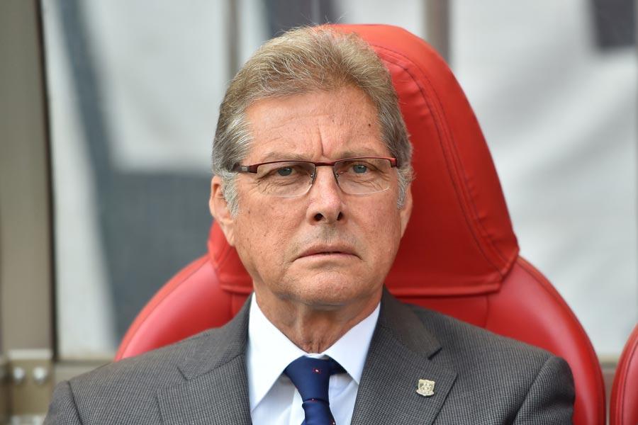 オリヴェイラ氏が、ブラジルの名門フルミネンセの監督に就任した【写真:木鋪虎雄】