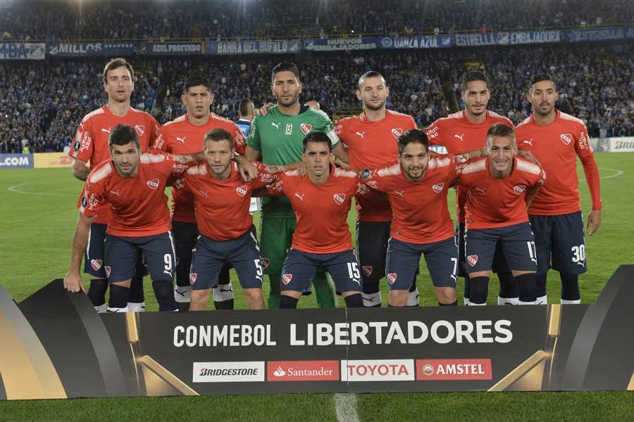 CONMEBOLスダメリカーナ覇者のインデペンディエンテ【写真:Getty Images】