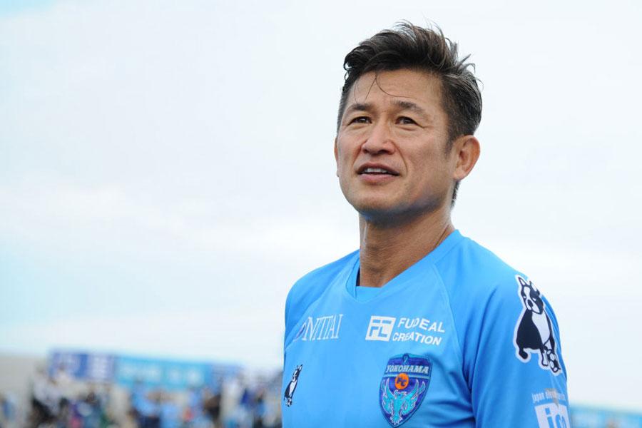 シンガポール人初のJリーガー、DFアプリンの憧れは、横浜FCの三浦知良だという【写真:Getty Images】