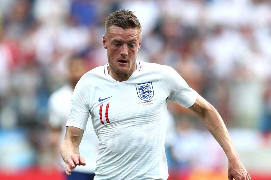 レスターFWヴァーディ、イングランド代表引退を示唆か【写真:Getty Images】