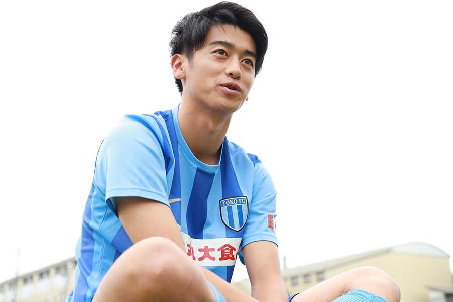 桐光学園高校のU-20日本代表MF西川潤【写真:高橋学】