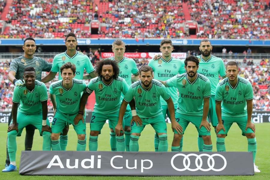 スペイン人選手の減少が顕著になっているレアル・マドリード【写真:Getty Images】