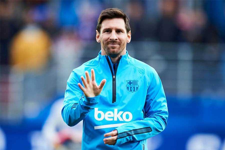 FCバルセロナFWリオネル・メッシ【写真:Getty Images】