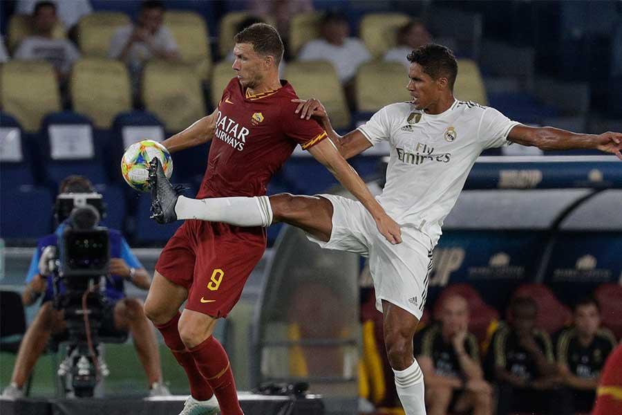 親善試合でレアルにPK戦で勝利したローマ【写真:AP】