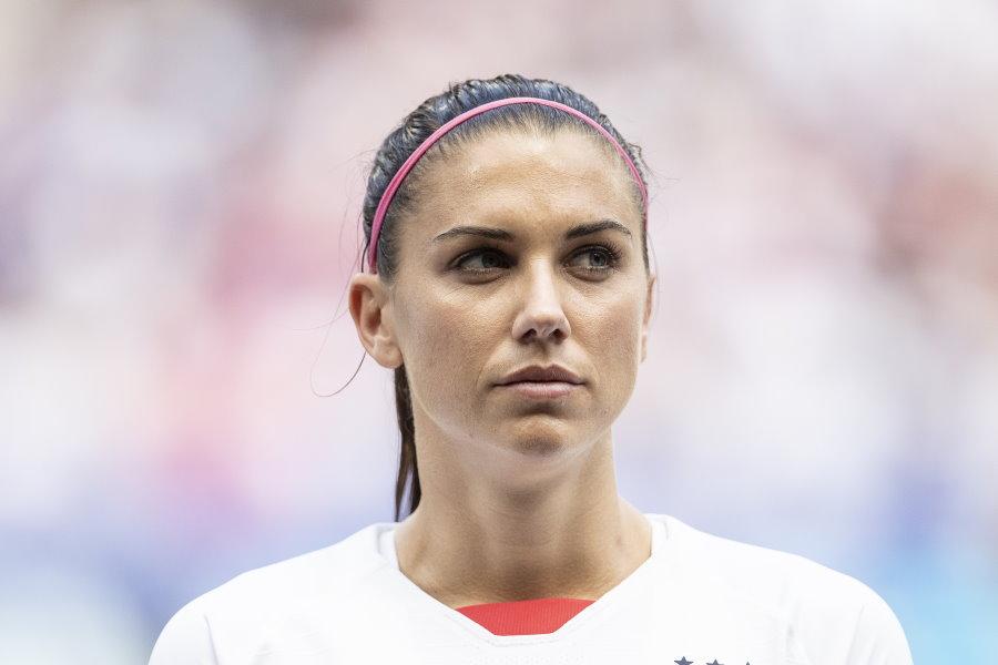 アメリカ女子代表FWモーガン【写真:Getty Images】