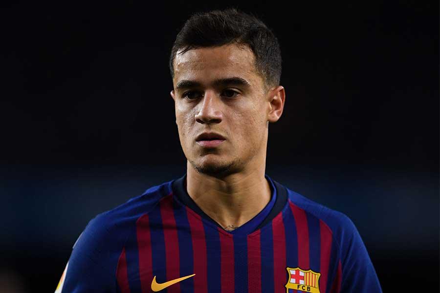 バルセロナはコウチーニョの獲得にクラブ歴代最高額を投じたが…【写真:Getty Images】