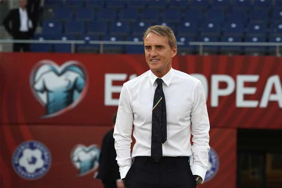 イタリア代表のマンチーニ監督はユベントスの優勝を予想【Getty Images】