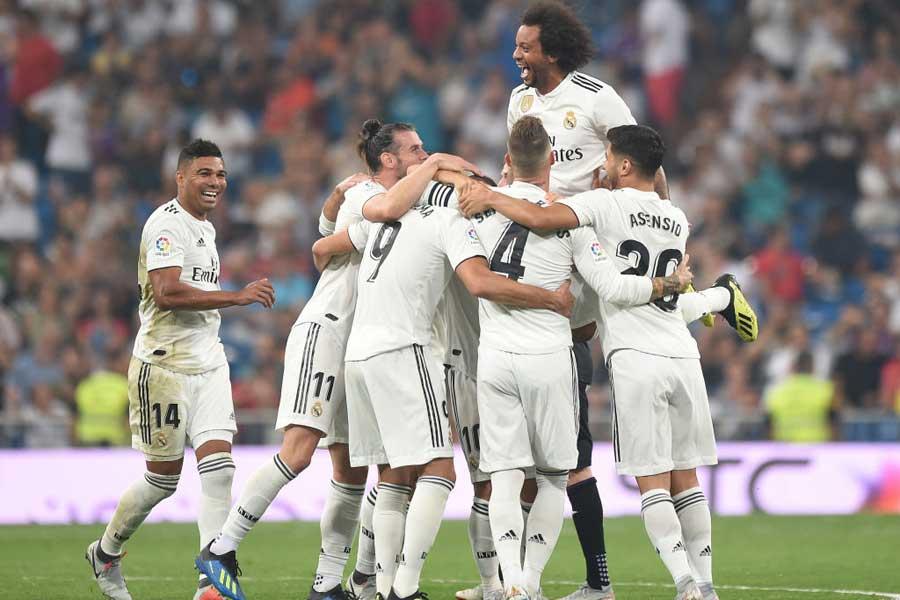 レアル・マドリードはリーグ開幕3連勝を飾っている【写真:Getty Images】