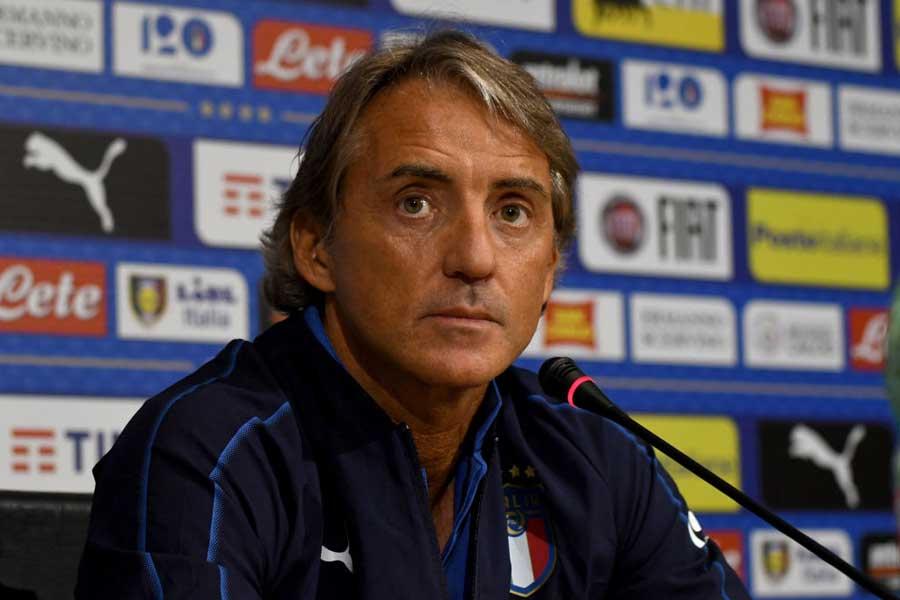イタリア代表のマンチーニ監督【写真:Getty Images】