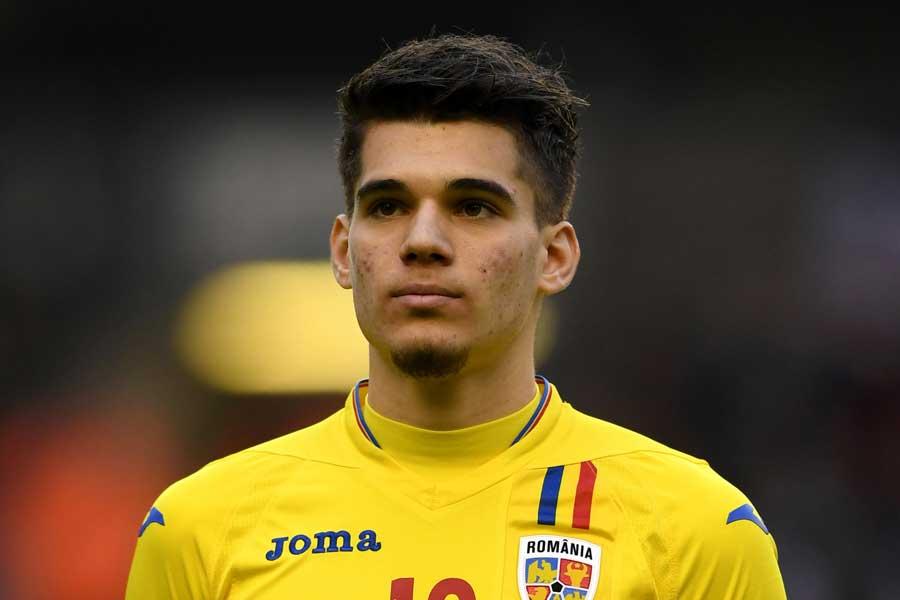 U-21ルーマニア代表のMFヤニス・ハジ【写真:Getty Images】