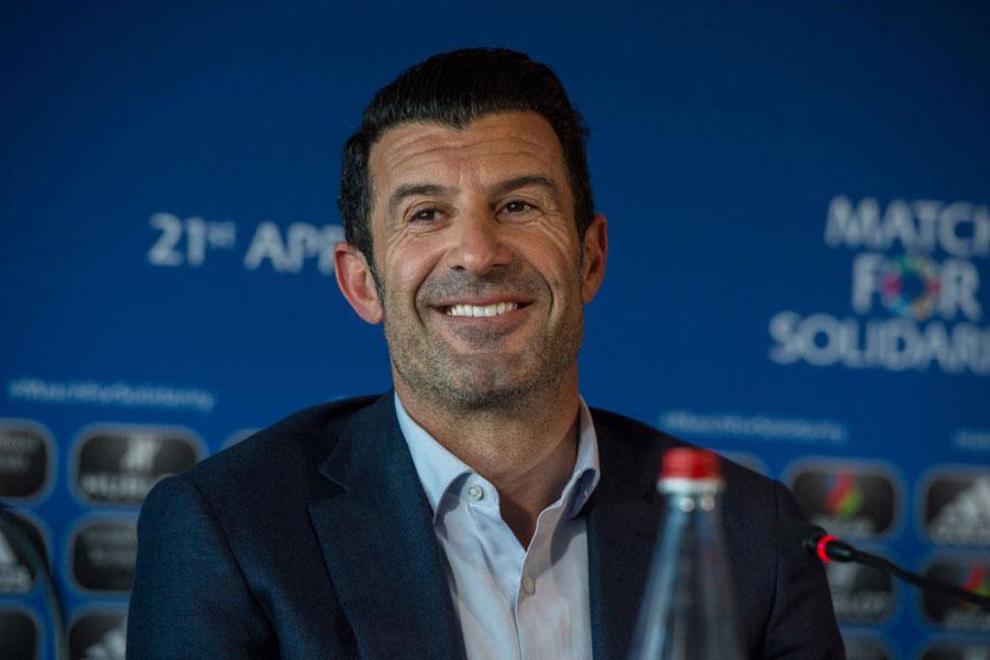 レアル・マドリードのOBである元ポルトガル代表MFフィーゴ氏【写真:Getty Images】