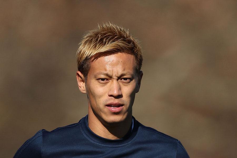 2008-09シーズンには背番号10を背負ったMF本田【写真:Getty Images】