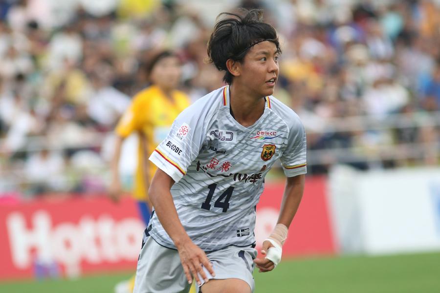 仙台L戦、1G1Aの活躍で勝利に貢献したINAC神戸FW京川【写真:Football ZONE web】