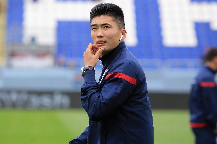 ユベントスに移籍をした北朝鮮代表FWハン・グァンソン【写真:Getty Images】