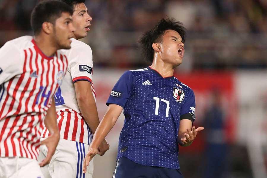 日本代表はパラグアイ代表に2-0で勝利【写真:高橋学】