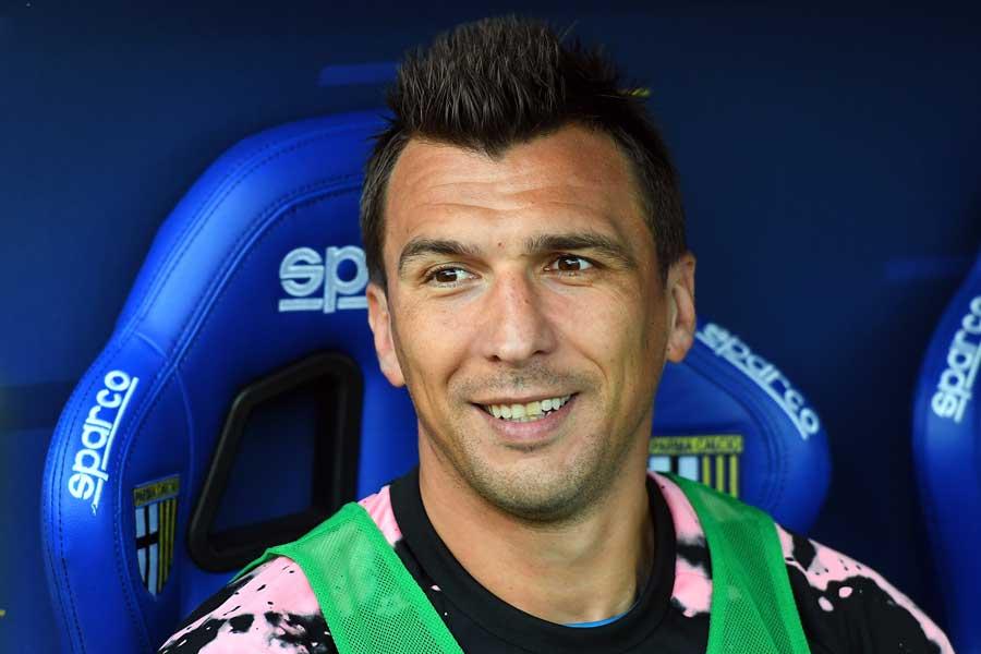 カタール行きが噂されている元クロアチア代表FWマリオ・マンジュキッチ【写真:Getty Images】