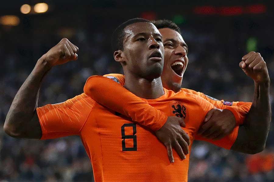 ドイツ戦で1ゴール1アシストの活躍を披露したオランダ代表MFワイナルドゥム【写真:Getty Images】