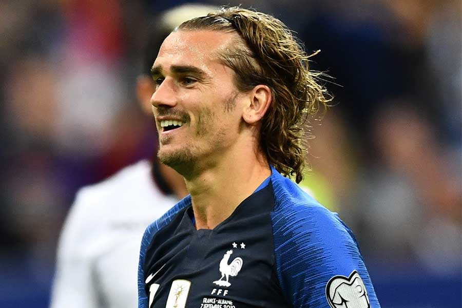 フランス代表FWグリーズマン【写真:Getty Images】