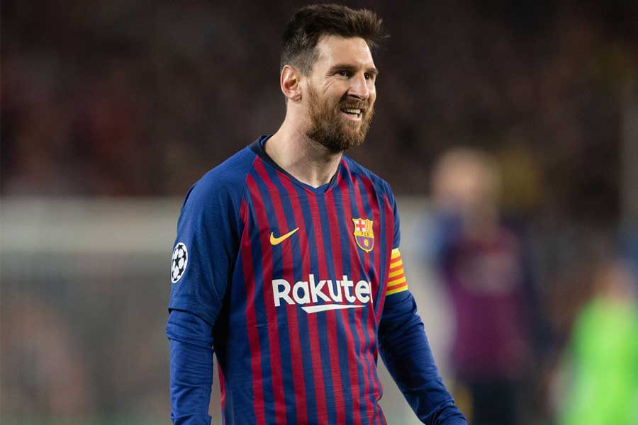 FWリオネル・メッシはバルセロナとの生涯契約を結ぶのだろうか【写真:Getty Images】