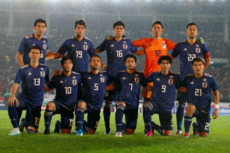 ミャンマー戦は、日本が試合を通して主導権を握る展開となった【写真:Yukihito Taguchi】
