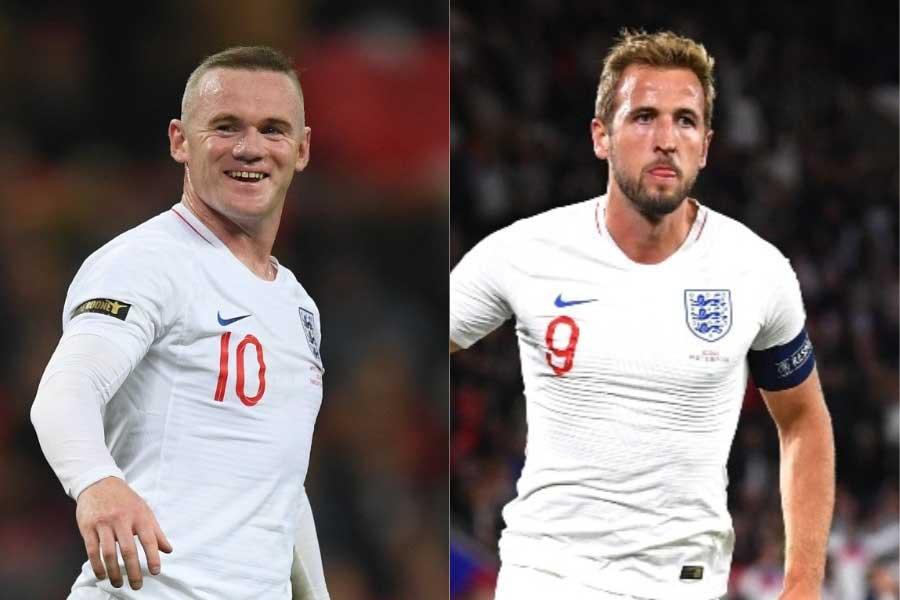 イングランド代表の歴代最多得点記録を保持するFWルーニー、FWケインに塗り替えられると断言【写真:Getty Images】