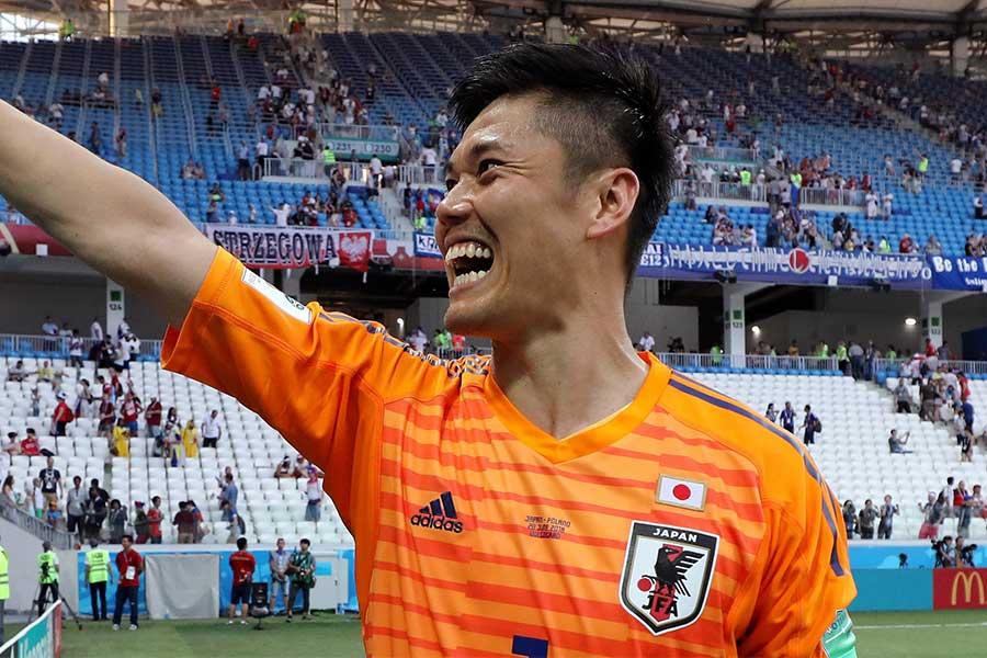 ストラスブールの日本代表GK川島永嗣【写真:Getty Images】