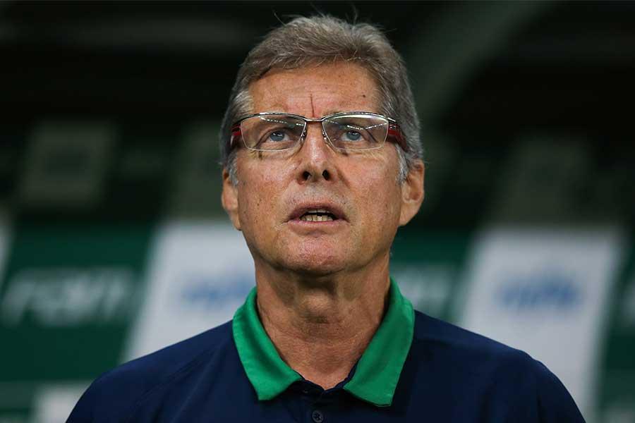 オリヴェイラ氏は、フルミネンセの監督に途中就任していたが9月27日に早くも解任となった【写真:Getty Images】