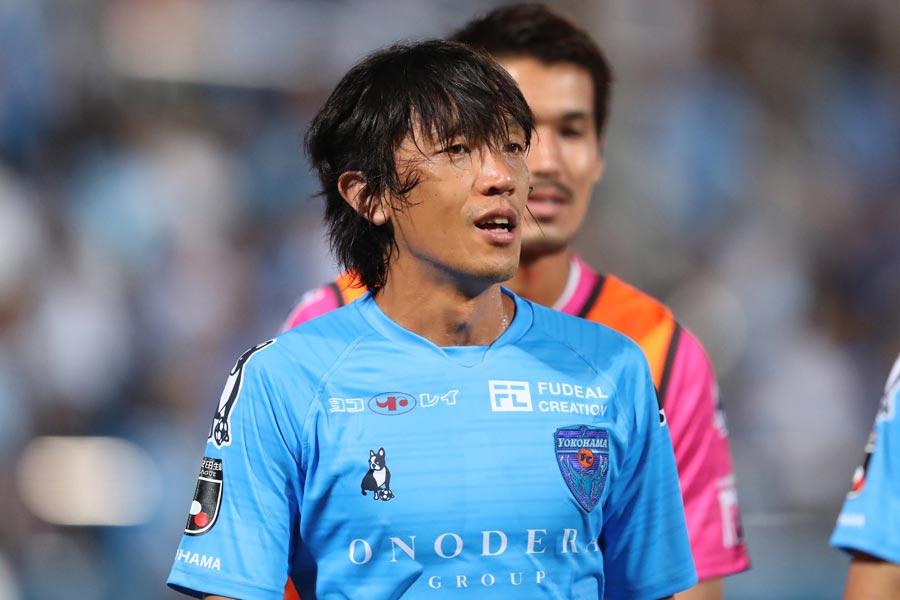 横浜FCの元日本代表MF中村俊輔【写真:高橋学】