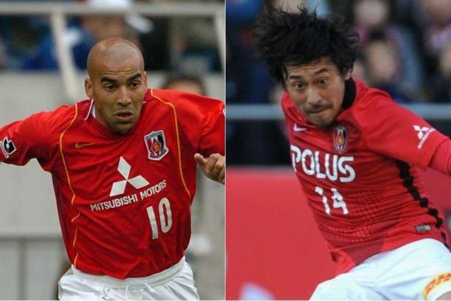 (左から)元浦和レッズFWエメルソンとDF平川【写真:Getty Images】