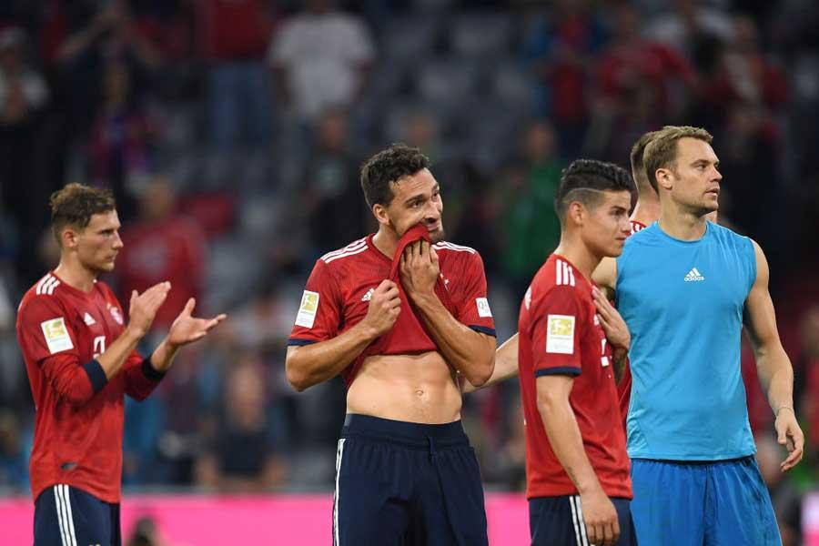 4戦未勝利と不調のバイエルンは、ドイツ代表にも影響を及ぼしてしまうのだろうか【写真:Getty Images】