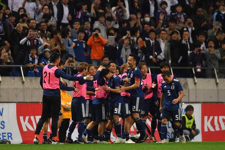 韓国メディアも強豪ウルグアイ代表を撃破した日本代表を高く評価している【写真:Getty Images】