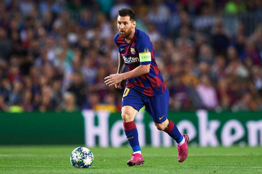 バルセロナのアルゼンチン代表リオネル・メッシ【写真:Getty Images】