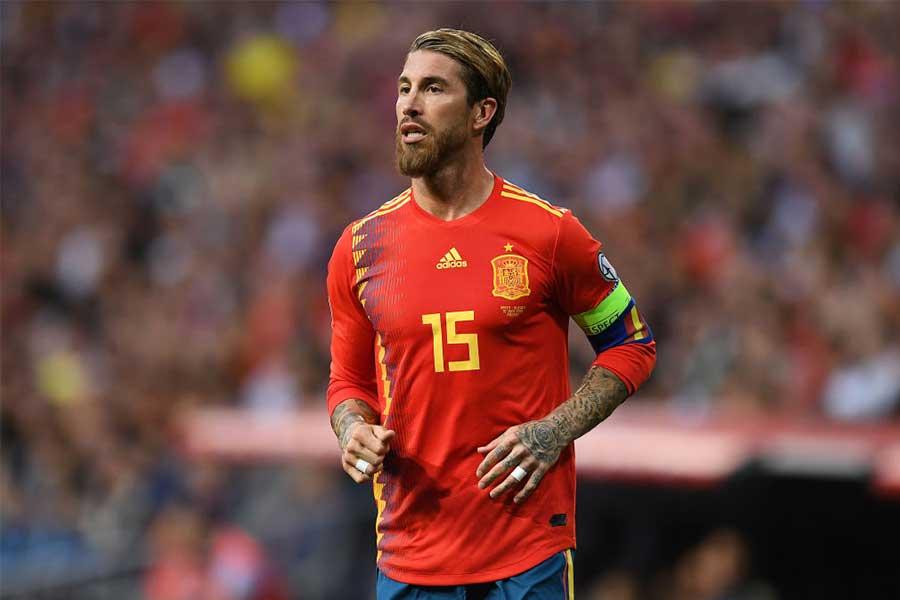 スペイン代表DFラモス【写真:Getty Images】
