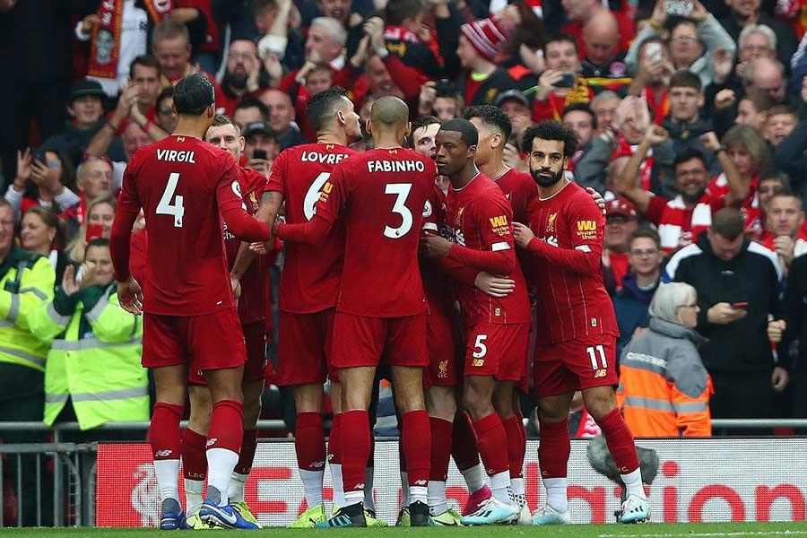 リバプールは2-1で勝利し8連勝を達成【写真:Getty Images】