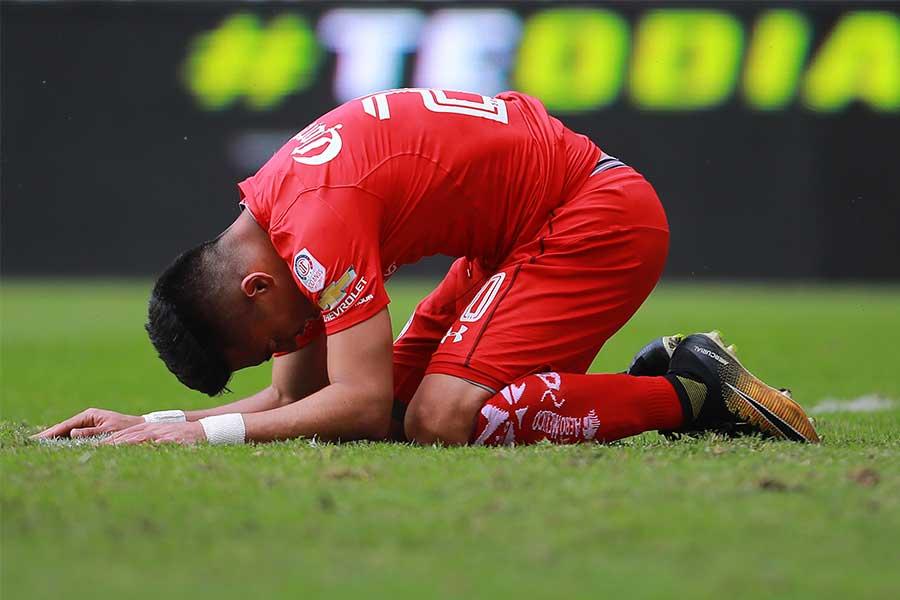 ブラジルリーグで起きた痛いファールとは…(写真はイメージです)【写真:Getty Images】