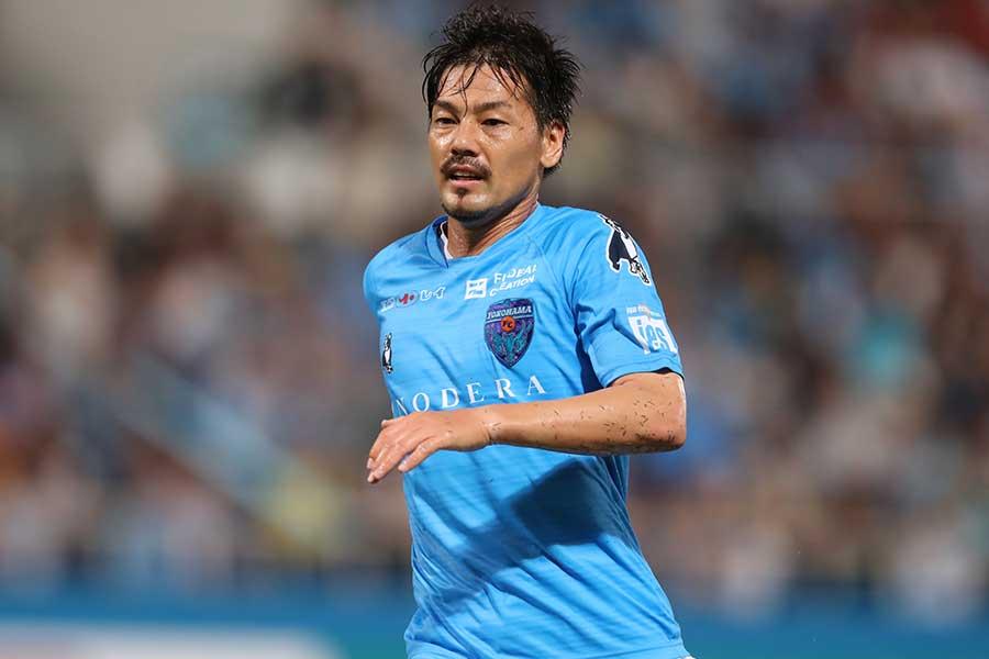 横浜FCの松井大輔のインスタグラムの投稿に反響【写真:Getty Images】