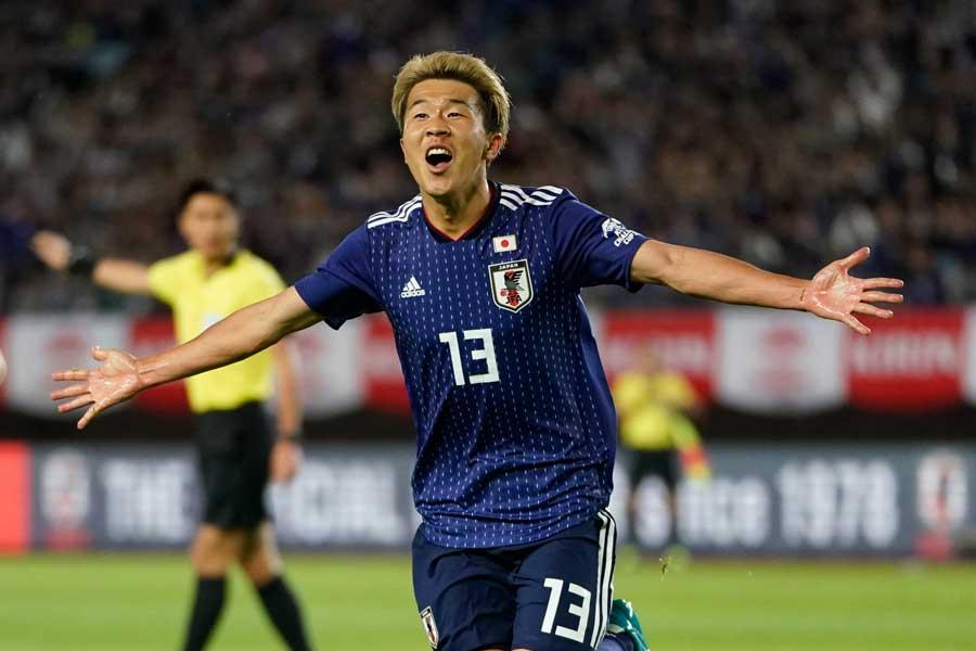 FC東京の日本代表FW永井謙佑【写真:Getty Images】