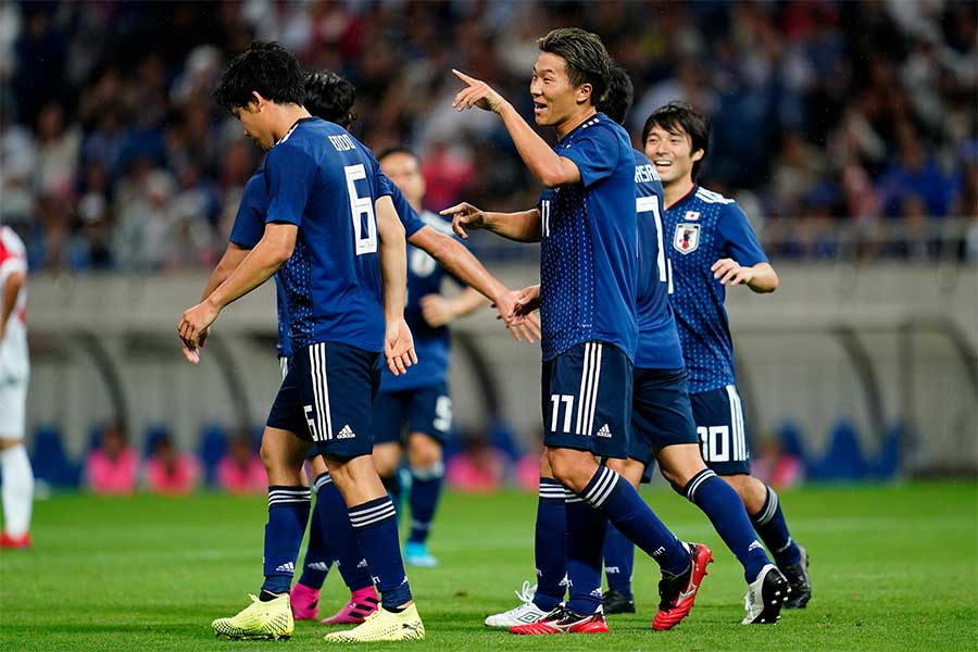 日本代表のスタメン争いが激しさを増してきている【写真:Yukihito Taguchi】