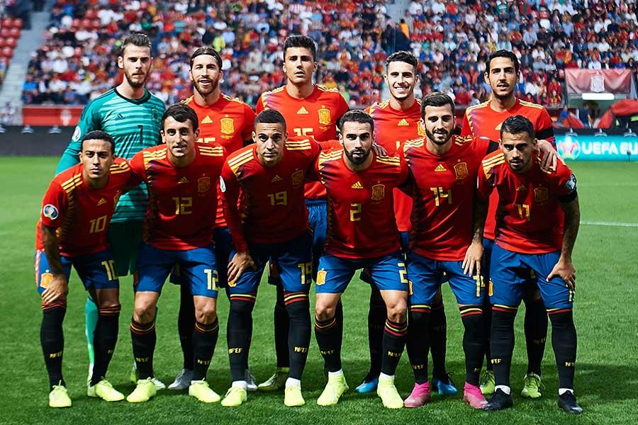 スペイン代表のポジション争いが熾烈を極めている【写真:Getty Images】