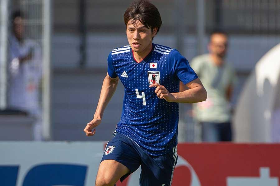 U-22日本代表MF田中碧が2ゴール1アシストと大活躍【写真:Getty Images】