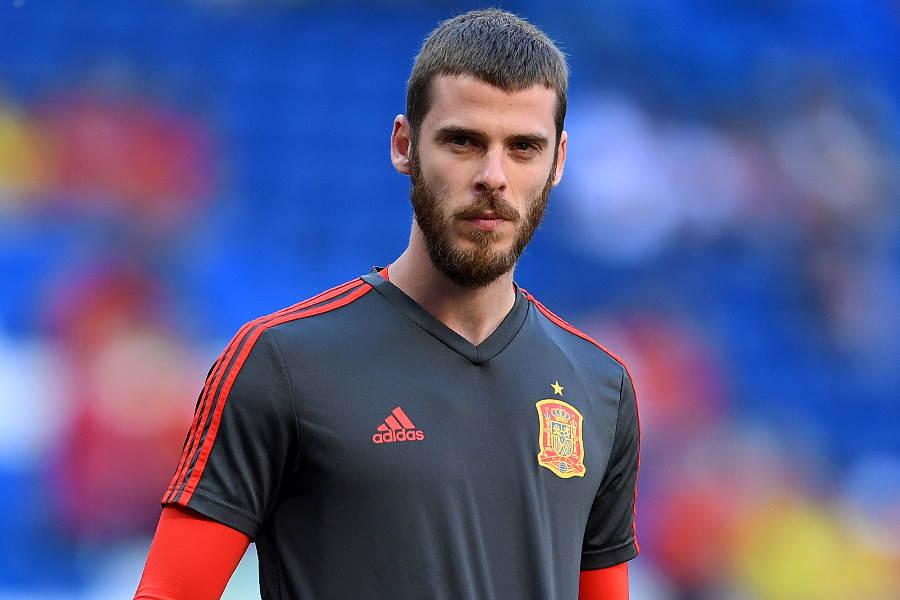 EUROで怪我を負ったマンUのダビド・デ・ヘア【写真:Getty Images】