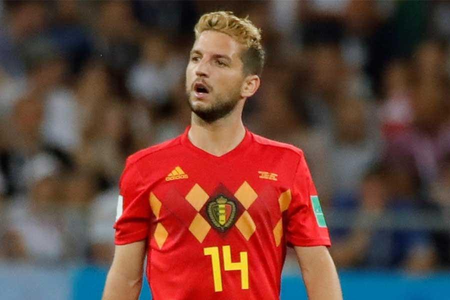 ベルギー代表FWメルテンスに、中国からのメガオファーが届いているという【写真:Getty Images】