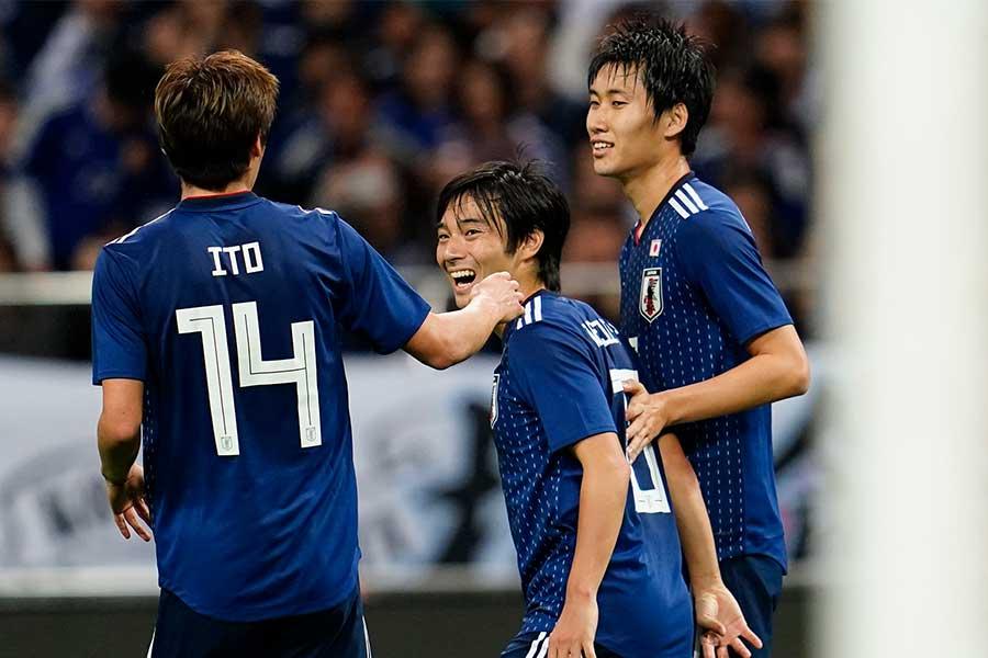 アジア2次予選、3連勝で単独首位に立った日本代表【写真:Yukihito Taguchi】