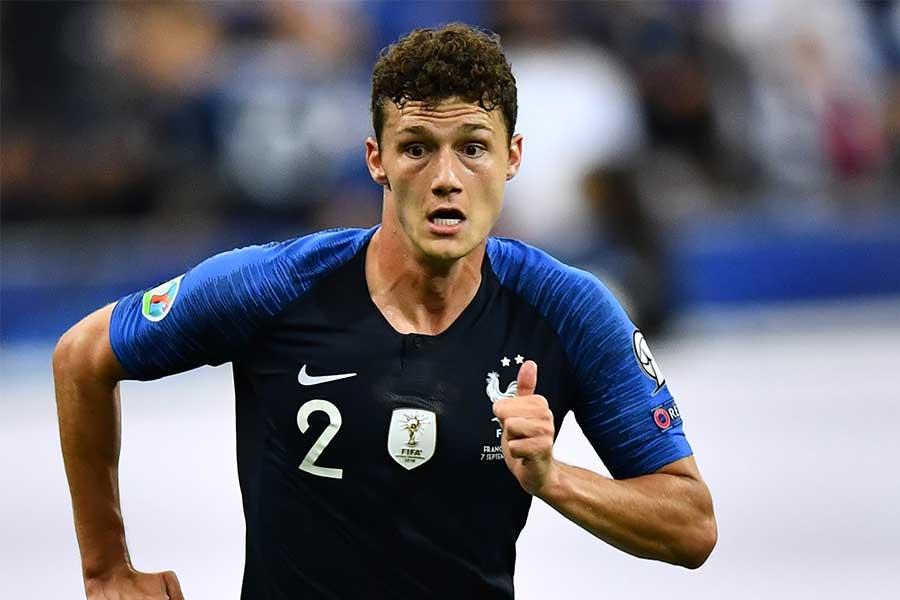 フランス代表DFパバール【写真:Getty Images】