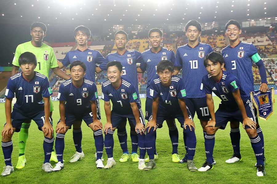 U-17日本代表がグループステージでオランダ代表に勝利【写真:Getty Images】